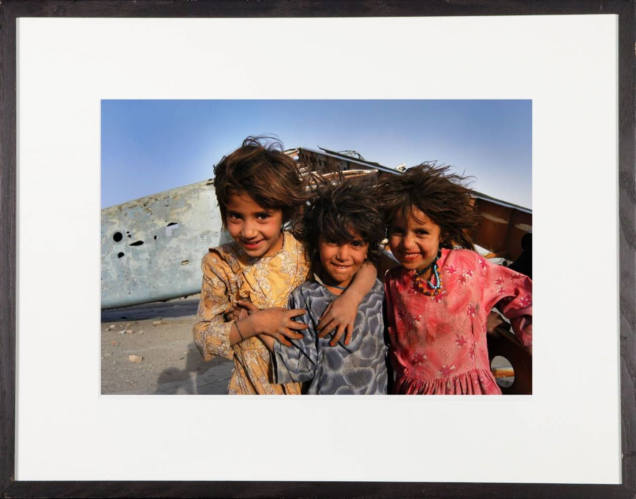 Kabul, three girls Junckers 52