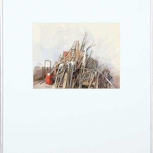 Vuilhoop rode doos 1998 kunst in huis kunstuitleen - Doos huis wereld ...